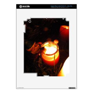 Cornelius Candle Skins For iPad 3