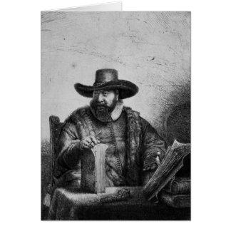Cornelius Claesz Anslo  1640 Card