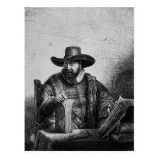 Cornelius Claesz Anslo  1640 Postcard