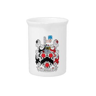 Cornelius Family Crest Beverage Pitchers