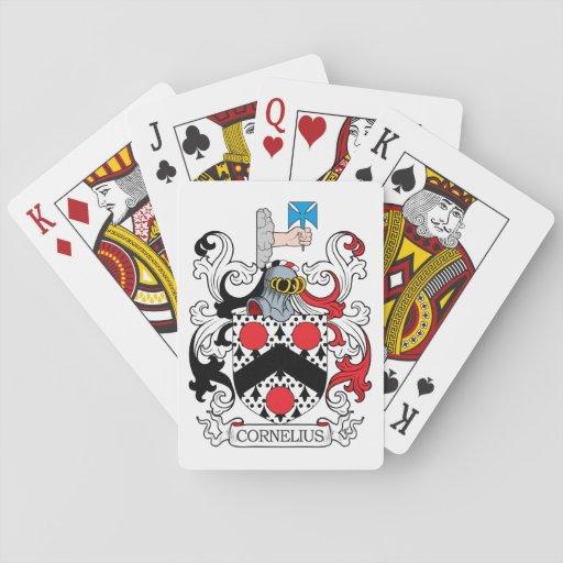 Cornelius Family Crest Poker Deck