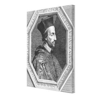 Cornelius Jansen, Bishop of Ypres Canvas Print