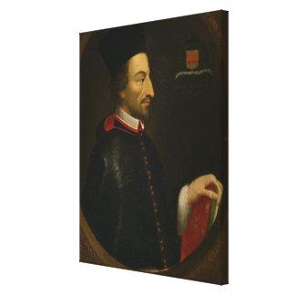 Cornelius Jansen  Bishop of Ypres Canvas Print