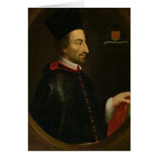 Cornelius Jansen  Bishop of Ypres Card