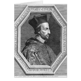 Cornelius Jansen, Bishop of Ypres Card