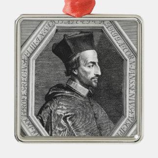 Cornelius Jansen, Bishop of Ypres Metal Ornament