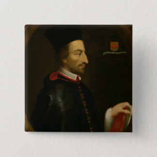 Cornelius Jansen  Bishop of Ypres Pinback Button