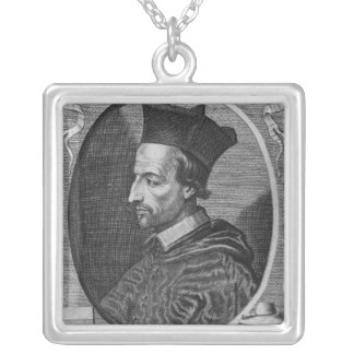 Cornelius Jansen, Bishop of Ypres Silver Plated Necklace