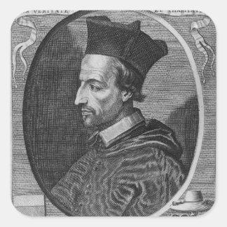 Cornelius Jansen, Bishop of Ypres Square Sticker