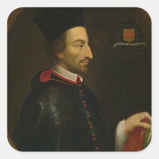 Cornelius Jansen  Bishop of Ypres Square Sticker