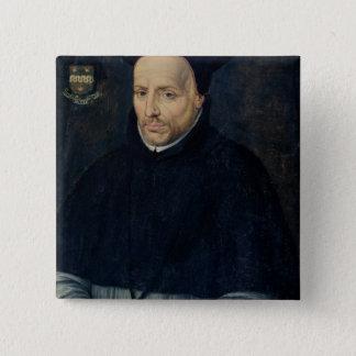 Cornelius Jansen Pinback Button