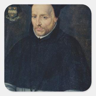 Cornelius Jansen Square Sticker