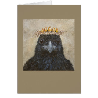 Cornelius the crow card