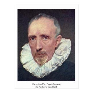 Cornelius Van Geest-Portrait By Anthony Van Dyck Post Cards
