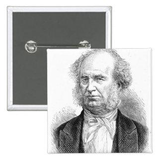 Cornelius Vanderbilt, c.1877 Pinback Button
