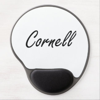 Cornell Artistic Name Design Gel Mouse Pad