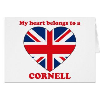 Cornell Greeting Card