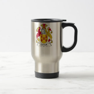 Cornell Family Crest Travel Mug