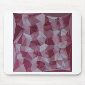 Cornell Red Abstract Low Polygon Background Mouse Pad
