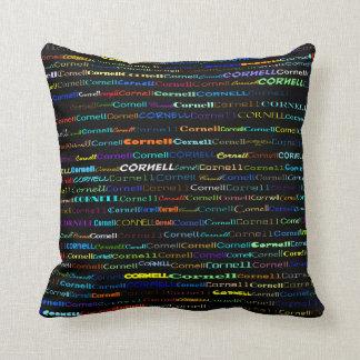 Cornell Text Design I Throw Pillow