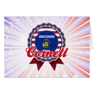 Cornell, WI Greeting Card
