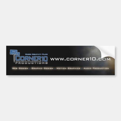Corner 10 Productions Bumper Sticker 2