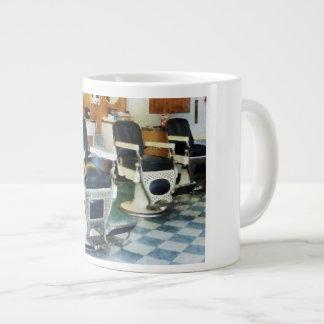 Corner Barber Shop Giant Coffee Mug