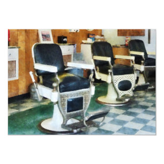 Corner Barber Shop Personalized Announcement