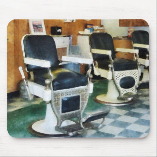 Corner Barber Shop Mouse Pad