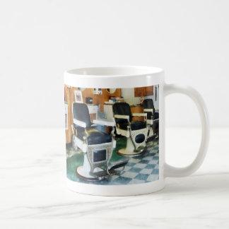 Corner Barber Shop Classic White Coffee Mug