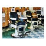 Corner Barber Shop Postcards