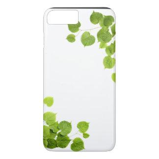 Corner Border Green Leaves iPhone 7 Plus Case