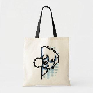 Corner Coton de Tulear Budget Tote Bag