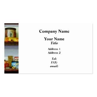 Corner Grocery Store Double-Sided Standard Business Cards (Pack Of 100)
