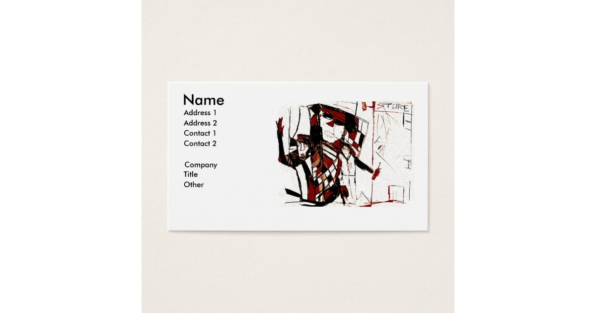 CORNER LIQUOR STORE BUSINESS CARD | Zazzle.com