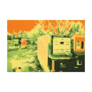 Corner Lot Canvas Print