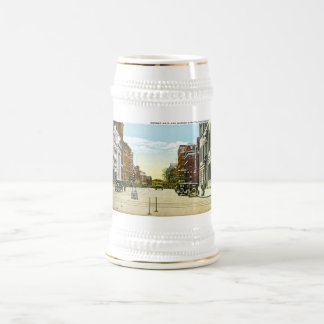 Corner Main and Market Streets, Poughskeepsie, NY Beer Stein