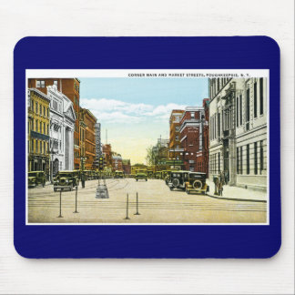 Corner Main and Market Streets, Poughskeepsie, NY Mouse Pad