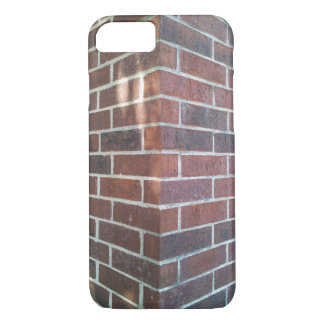 Corner of a Red Brick Building. iPhone 7 Case