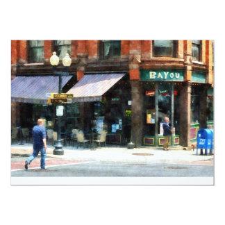Corner of Columbia and Pearl Albany NY Card
