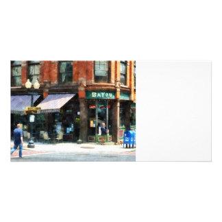 Corner of Columbia and Pearl Albany NY Photo Card