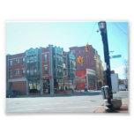 Corner of Elmwood and Allen St at Buffalo NY Photographic Print