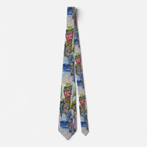 Corner of Flying Pig Farm and Wine a Bit. Tie