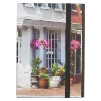 Corner of King Street and S Alfred Alexandria VA Cover For iPad Air