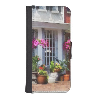 Corner of King Street and S Alfred Alexandria VA Phone Wallet Cases