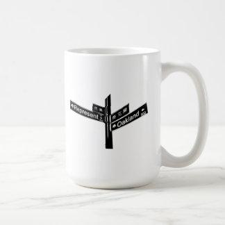 Corner of Represent & Oakland (www.repoakland.com) Coffee Mug