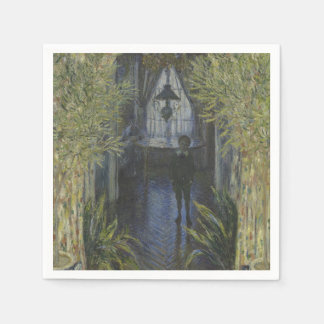 Corner of the Apartment by Claude Monet Paper Napkin