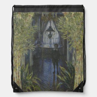 Corner of the Apartment by Claude Monet Backpack