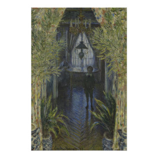 Corner of the Apartment by Claude Monet Poster