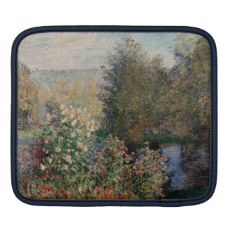 Corner of the Garden at Montgeron - Claude Monet Sleeve For iPads